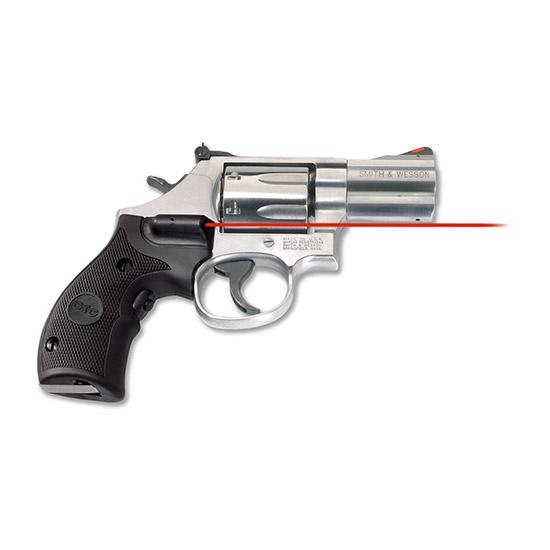 Crimson Trace LG306 Lasergrips  Red Laser S&W K L Frame Round Butt Grip Black