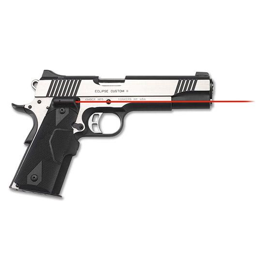 Crimson Trace LG401 Lasergrips  Red Laser 1911 Full Size Grip Black