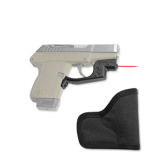 Crimson Trace LG430H Laserguard with Holster Red Laser Kel-Tec P32|P3AT Trigger Guard Black