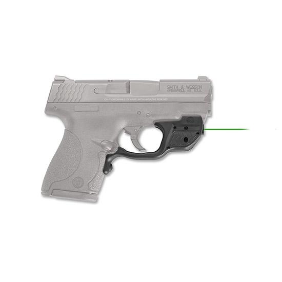 Crimson Trace LG489G Laserguard  Green Laser S&W M&P Shield Trigger Guard Black