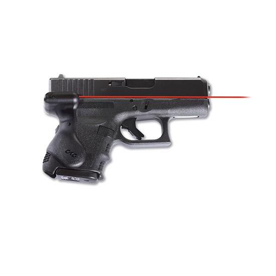 Crimson Trace LG626 Lasergrip Red For Glock Gen3 Sub-Cmpct 26|27 Rear Activation