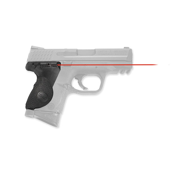 Crimson Trace LG661 Lasergrips Red 633nm S&W M&P Compact .5@50ft Black in.