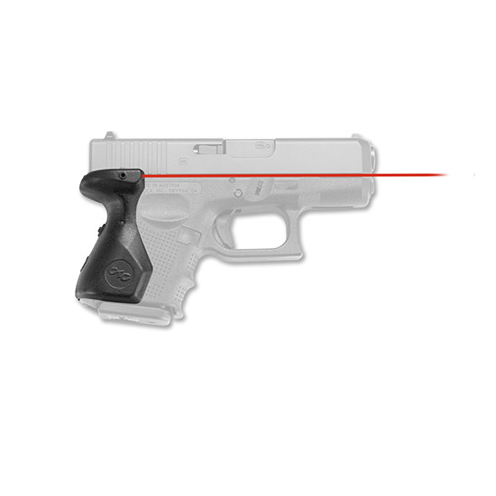 Crimson Trace LG852 Lasergrip Glk 26|27|33 Gen4 Red 633nm 0.5@50ft Blk Poly in.