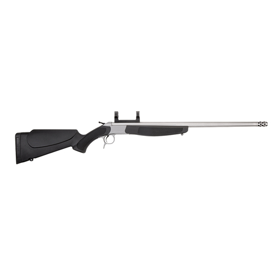 CVA CR4806S Scout V2 Break Open 45-70 Government 25 MB 1 Synthetic Black Stk Stainless in.