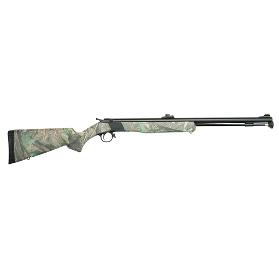 CVA Wolf Hardwoods Green .50 24-inch 1rd with KonuShot 3-9x32mm Scope
