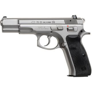 CZ 75B Matte Stainless 9mm 4.6-inch 10Rds