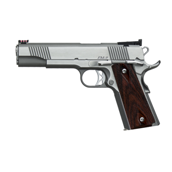 Dan Wesson 01860 1911 Pointman Single 38 Super 5 9+1 Cocobolo Grip Stainless in.