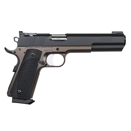 Dan Wesson 01881 1911 Bruin 10mm Single 6.3 8+1 Black G10 Grip Black Slide in.