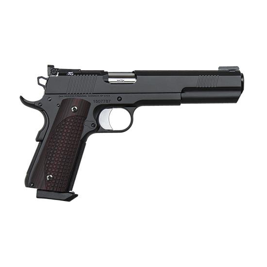 Dan Wesson 01882 1911 Bruin 45 Automatic Colt Pistol (ACP) Single 6.3 8+1 Black G10 Grip Black Slide in.