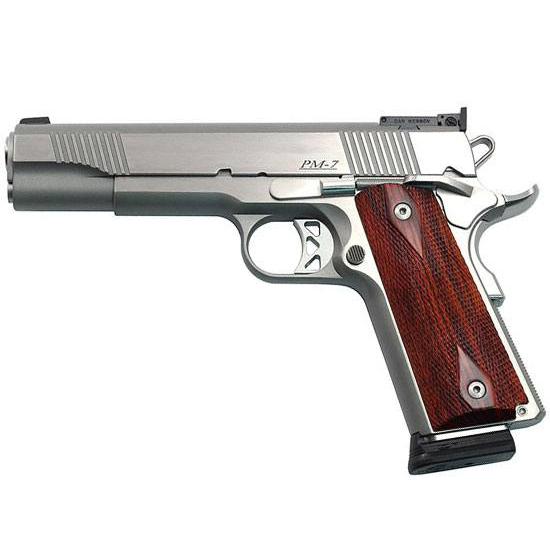 Dan Wesson 01900 Pointman Seven CA Comp SAO 45 ACP 5 8+1 Cocobolo Grip Stainles in.