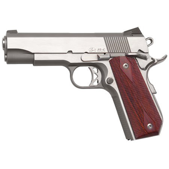 Dan Wesson 01912 Commander Classic Bobtail 45 ACP 4.3 8+1 Wood Grips SS in.