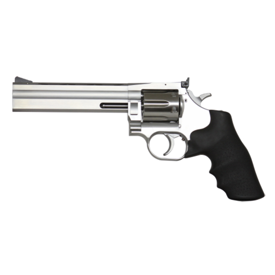 Dan Wesson 01935 1911 715 Pistol Pack Single|Double 357 Magnum 4|6 in. |8 in.  6rd Black Rubber Stainless in.