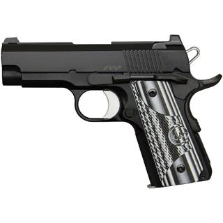 Dan Wesson 01968 DW ECO 9mm 3.5 8+1 Black|Gray G10 Grip Black in.