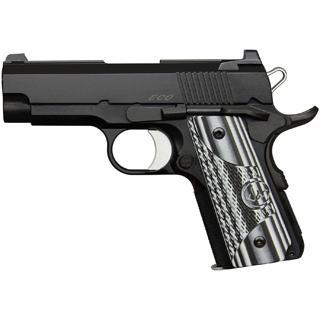 Dan Wesson 01968 DW ECO 9mm 3.5 8+1 Black|Gray G10 Grip Black in.