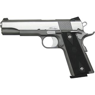 Dan Wesson 01981 DW RZ-45 Heritage 45 ACP 5 8+1 Blk Rubber Grip Blk|SS in.