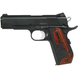 Dan Wesson 01987 DW Guardian SAO 45 ACP 4.25 8+1 Wood Grip Black Finish in.