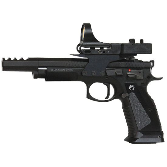 CZ 75 TS Czechmate Black 9mm 5.4-inch 26Rd