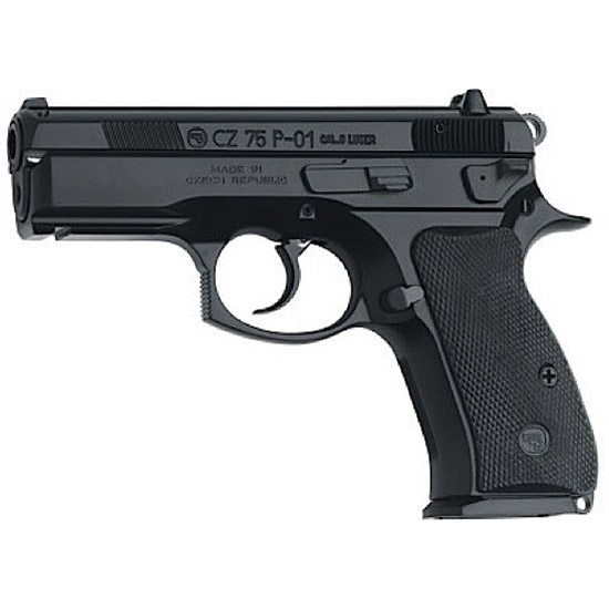 CZ 91199 CZ-P P-01 9mm 3.9 14+1 Black Synthetic Grip Black Finish in.