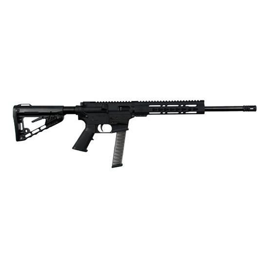 Diamondback EB9RB DB9 Rifle Semi-Automatic 9mm Luger 16 31+1 Rogers Super-Stoc Black Stk Black Nitride in.