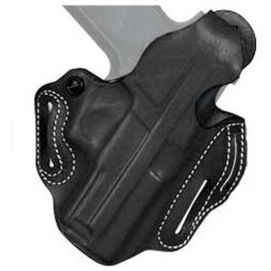 Desantis Gunhide 001BA5EZ0 Thumbreak Scabbard S&W Shield 45 4 Barrel Leather Black in.