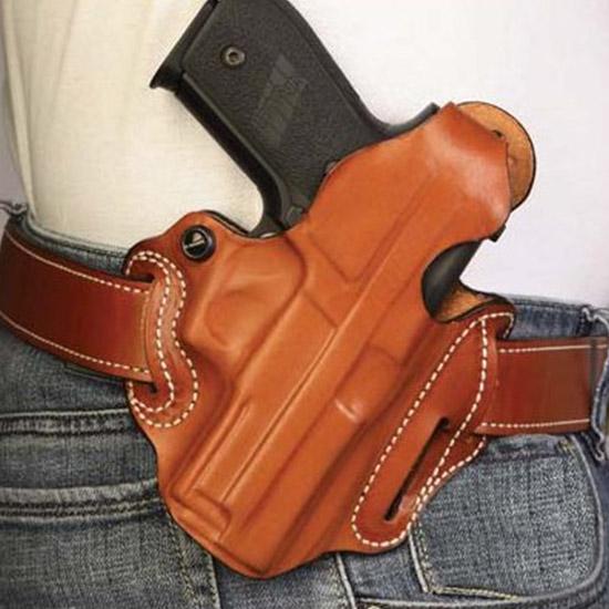 Desantis Gunhide 001BAM9Z0 Thumb Break Scabbard S&W M&P 9 40  45C Leather Black