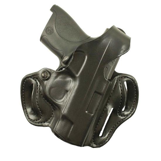 Desantis Gunhide 001BAX7Z0 Thumb Break Scabbard S&W M&P 9 40 Shield RH Leather Black