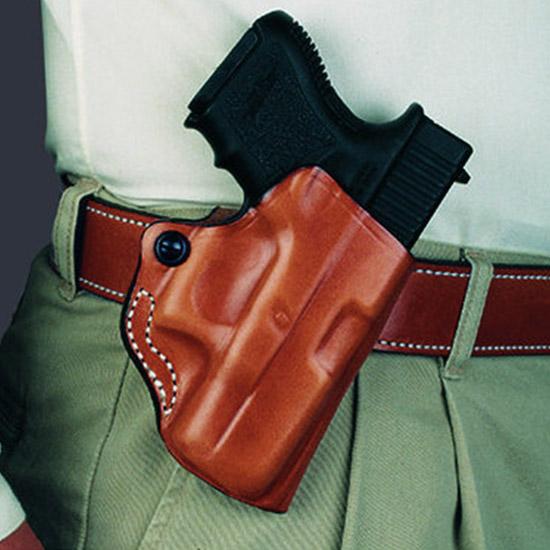 Desantis Gunhide 019BAO2Z0 Mini Scabbard Taurus 85 2 850CIA 2 in.  85CH 2 in.  Leather Black in.