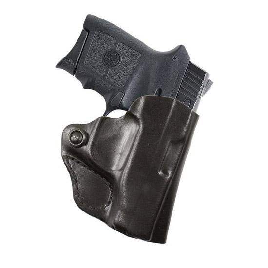 Desantis Gunhide 019BAV5Z0 Mini Scabbard Ruger LC9 Leather Black