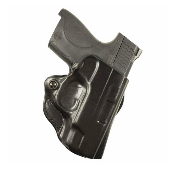 Desantis Gunhide 019BAX7ZO Belt Holster Mini Scabbard S&W M&P Shield 9 40 Nylon Black