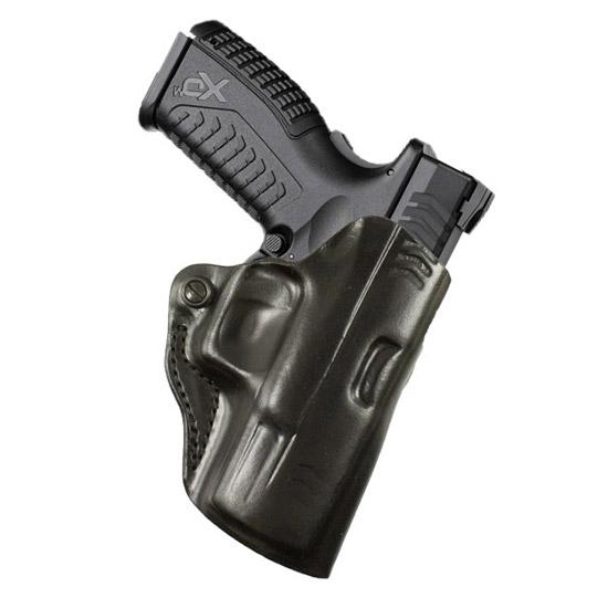 Desantis Gunhide 019BAY1ZO Mini Scabbard Belt Slide RH Springfield XDS Leather Black