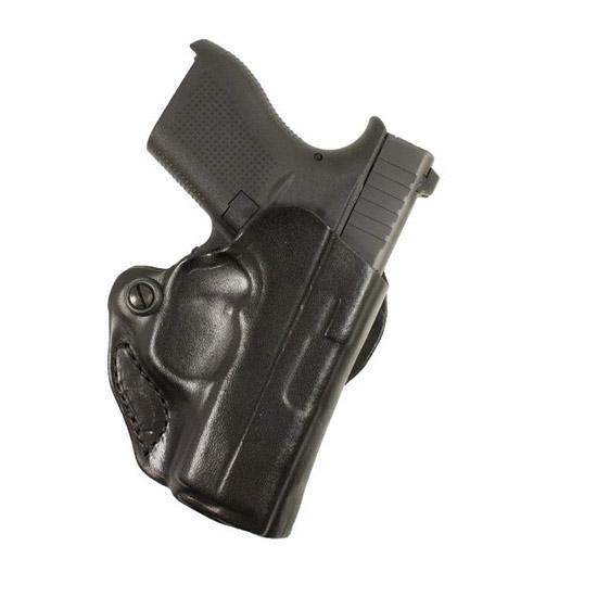 Desantis Gunhide 019BAY8ZO Mini Scabbard RH Glock 42 Leather Black