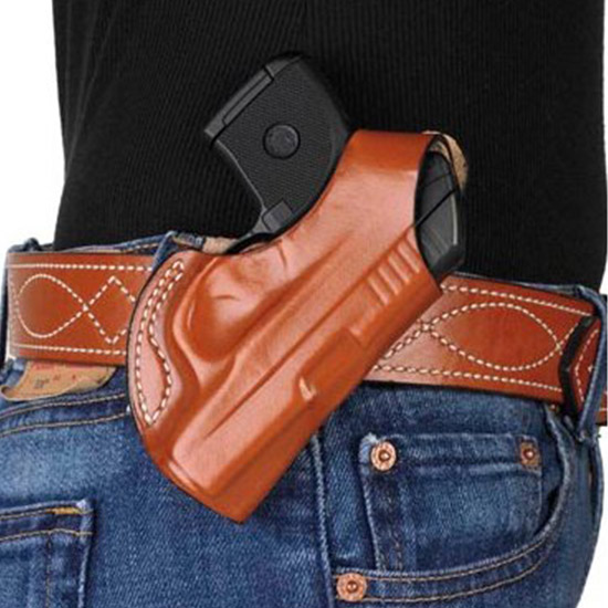 Desantis Gunhide 027BAR7Z0 Quick Snap Kel-Tec P3AT Leather Black