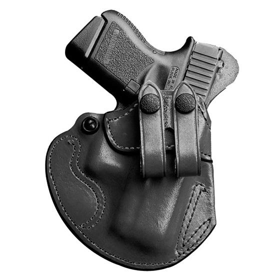 Desantis Gunhide 028BA5EZ0 Cozy Partner S&W Shield 45 4 Barrel Leather Black in.
