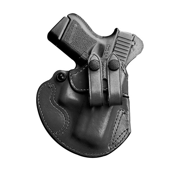 Desantis Gunhide 028BAX7Z0 Cozy Partner S&W M&P 9 40 Shield RH Leather Black
