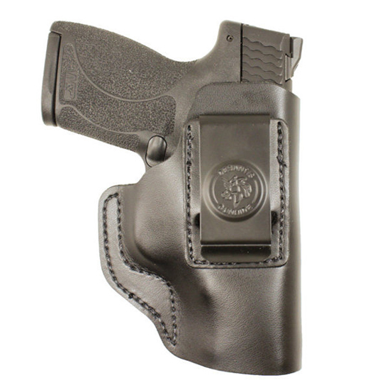 Desantis Gunhide 031BA5EZ0 Insider S&W Shield 45 4 Barrel Leather Black in.