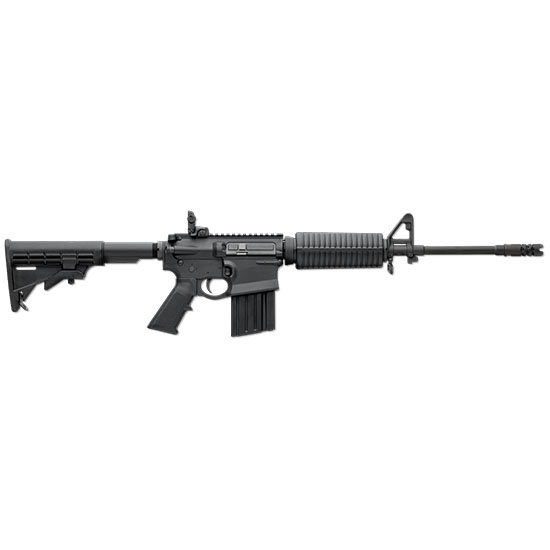 DPMS 60224 GII AP4-Optics Ready Semi-Automatic 308 Winchester 16 20+1 6 Position AP4 Stk Teflon-Coated Black in.