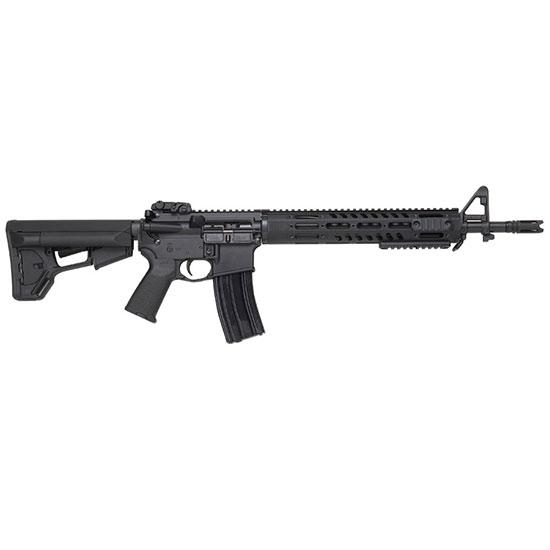 DPMS 60545 Tac2 Enhanced Tactical Semi-Automatic 223 Remington|5.56 NATO 16 30+1 Magpul ACS Black Stock Black in.