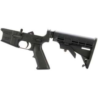 DPMS LR05AP4 Assembled Lower AP4 Stock AR-15 Platform 223 Remington|5.56 NATO Black Hardcoat Anodized