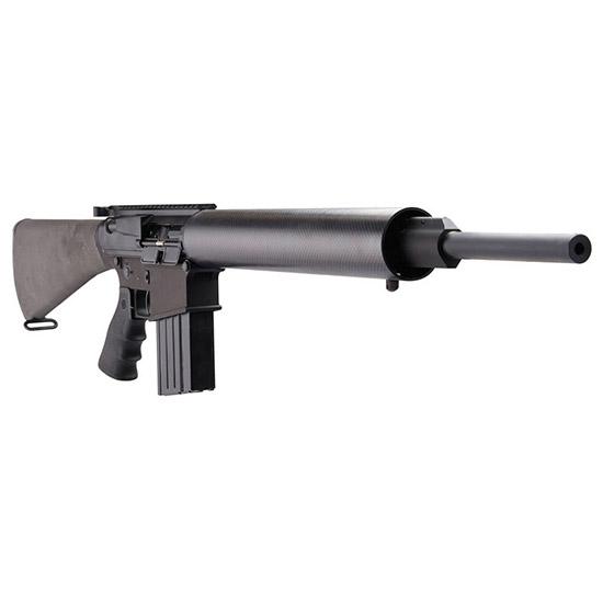 DPMS 60242 GII Hunter Semi-Automatic 243 Winchester 20 Magpul MOE Black Stk Black in.