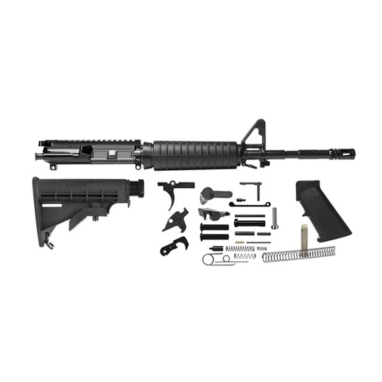 Del-Ton M4 Rifle Kit Black .223 | 5.56 NATO 16-inch