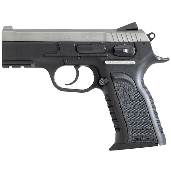EAA 600245 Witness Polymer Carry DA|SA 45ACP 3.6 10+1 Blk Syn Grip SS in.