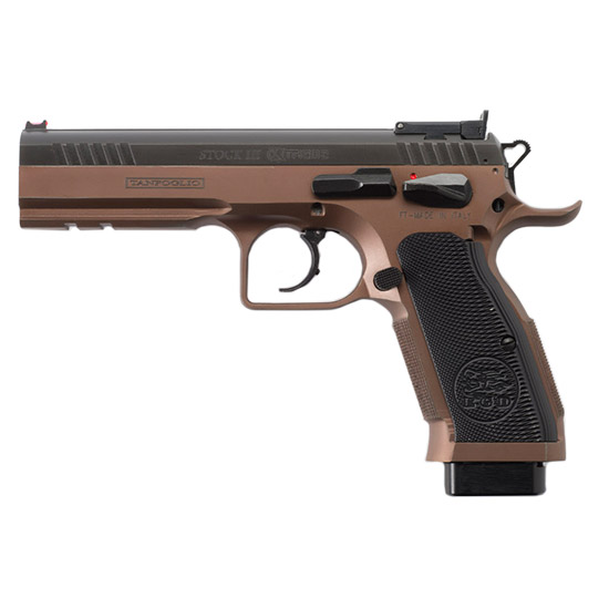 EAA 610595 Witness Double 9mm 4.5 17+1 Aluminum Grip Black in.