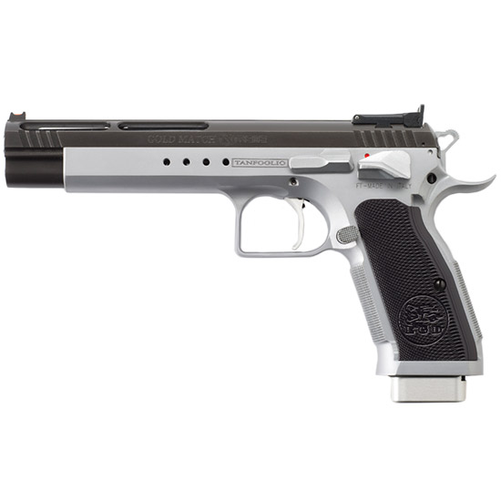 EAA Tanfoglio Witness Match Xtreme .45 ACP Semi Auto Pistol 6 in.  Barrel 10 Rounds Duo-Tone Silver|Black Ceramic Coating