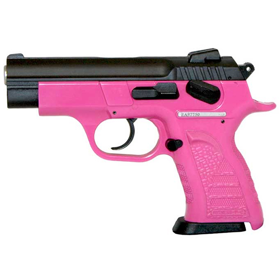 EAA 999041 Witness Compact 9mm Single|Double 3.6 13+1 Pink Polymer Frame in.