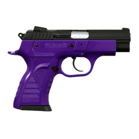 EAA 999042 Witness Compact 9mm Single|Double 3.6 13+1 Purple Polymer Frame in.