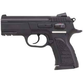 EAA 999106 Witness P Compact SA|DA 9mm 3.6 14+1 Poly Grip|Frame Black in.