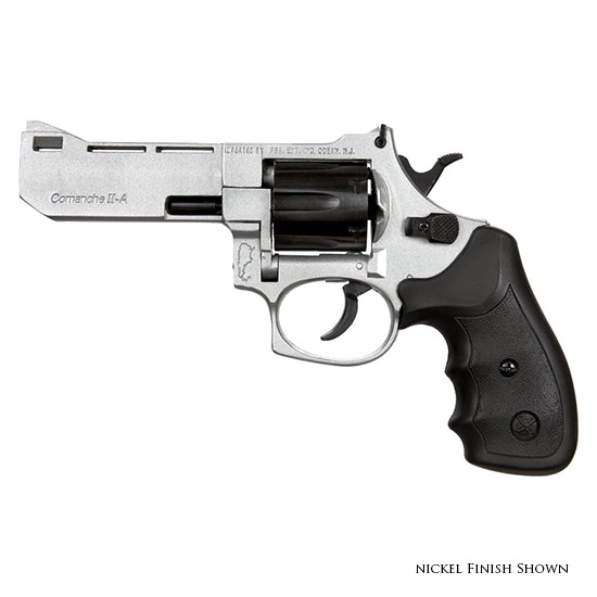 Comanche CR21002 Comanche II-A Double 38 Special 3 in.  6 Black Synthetic Blued