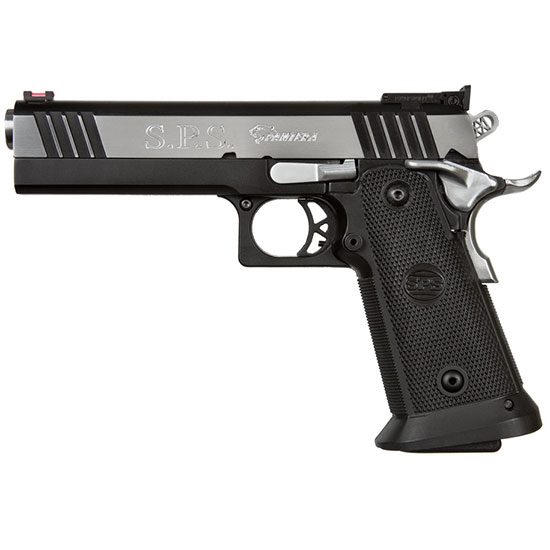 SPS SPP9BC Pantera  9mm Luger Single 5 21+1 Black Polymer Grip Black|Chrome Slide in.