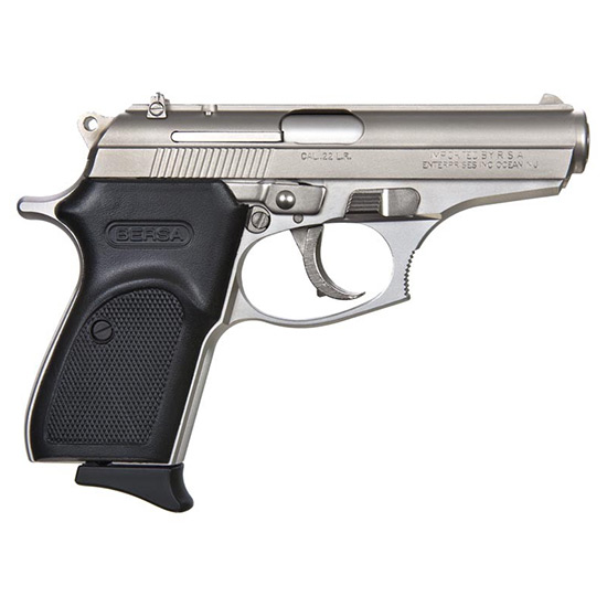 Bersa T22NKL Thunder 22 Single|Double 22 Long Rifle (LR) 3.5 10+1 Black Polymer Grip Nickel in.