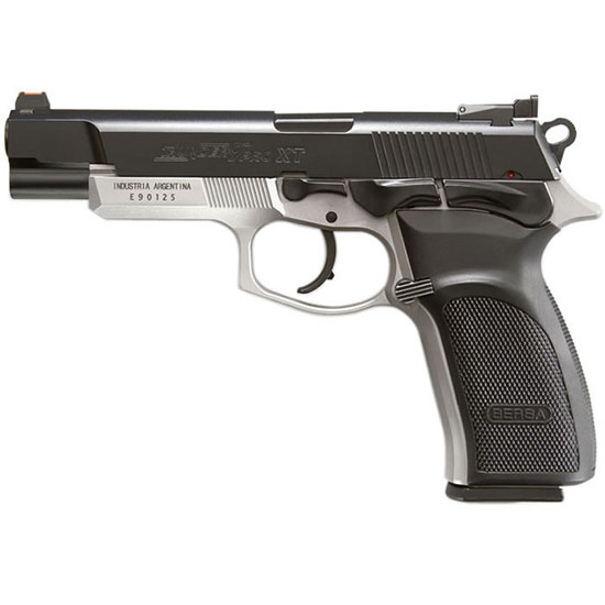 Bersa T9PXT Thunder Pro XT Single|Double 9mm Luger 4.96 17+1 Black Polymer Grip Black Aluminum Alloy in.